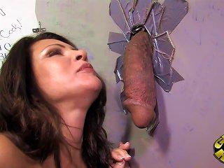 Amazing Teri Weigel Has Interracial Sex With A Big Black Cock